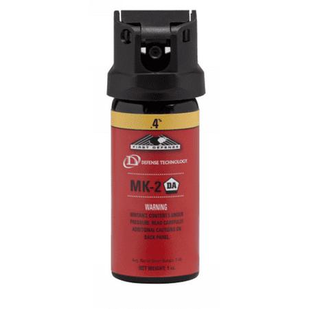 Defense Technology 56325 First Defense Mk 2 Stream  4   1 Oz   Pepper Spray