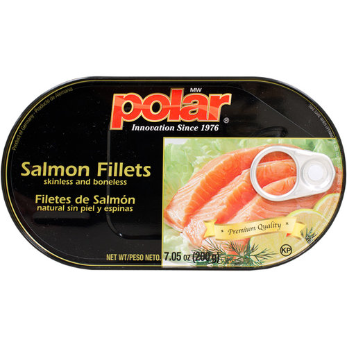 Polar Skinless and Boneless Salmon Fillets, 7.05 oz