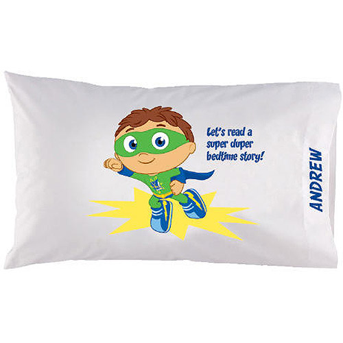 Personalized Super Why! Bedtime Story Pillowcase