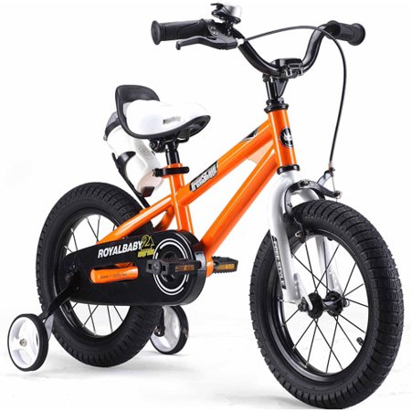 "12"" Royalbaby Freestyle Kids' Bike, Orange"