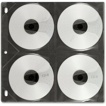 Vaultz, IDEVZ01401, Media Binder Sleeves, 25, (Cd Binder Sheet)