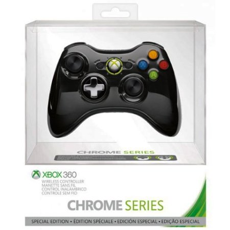 Controller 4400 Series - Xbox 360 Limited Edition Chrome Series Wireless Controller - Black