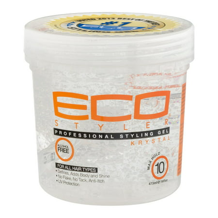(2 Pack) Eco Styler Professional Styling Gel, Maximum Hold, 16 (Best Eco Styler Gel For 4a Hair)