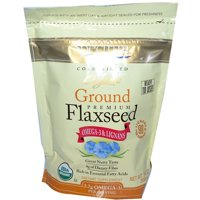 Spectrum Essentials Organic Ground Flaxseed 14 Ounce, Pack of 2