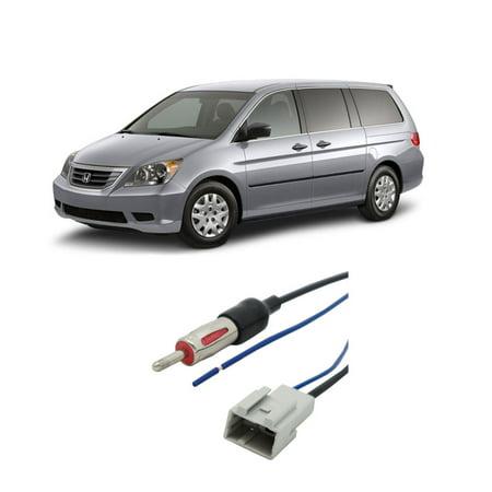 Honda Odyssey Aftermarket - Honda Odyssey 2005-2010 Factory Stereo to Aftermarket Radio Antenna Adapter