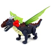 Dino Valley Winged Dragon Battery Operated Walking Toy Dinosaur Figure w  Realistic Movement, Eyes & Wings Light Up by Velocity Toys