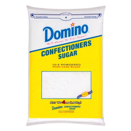 Product of Domino Confectioners Sugar, 4 lbs. [Biz (Powdered Sugar And Confectioners Sugar The Same)
