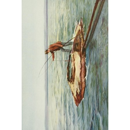 The Wonders of the World 1910 The Hot Spring Yellowstone Lake Stretched Canvas - Unknown (24 x (Best Natural Hot Springs In The World)