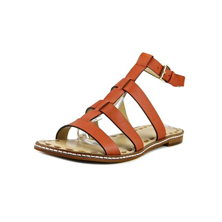 d627cd3ed50c Michael Kors - MICHAEL Michael Kors Womens Fallon Leather Open Toe Casual Strappy  Sandals - Walmart.com