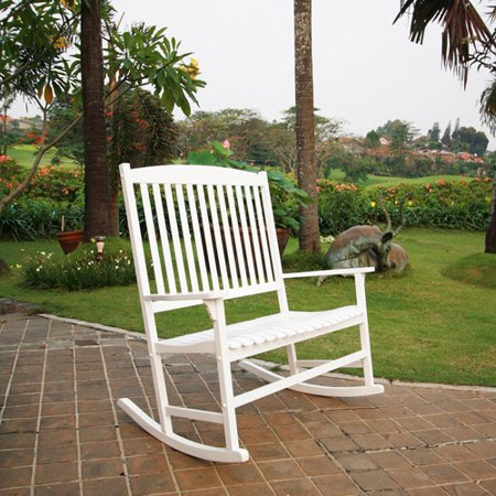 Mainstays Outdoor 2-Person Double Rocking (Traditional Slat Rocking Chair)