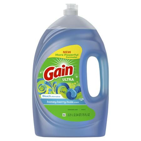 Palmolive Ultra Dishwashing (Gain Ultra Bleach Alternative Dishwashing Liquid Dish Soap, Honey Berry Hula, 75 fl oz )