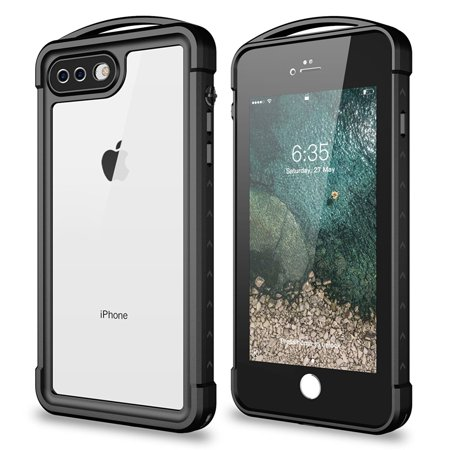 premium selection b0fa8 8b34c iPhone 8 Plus/ iPhone 7 Plus Waterproof Case,SNOWFOX Outdoor ...