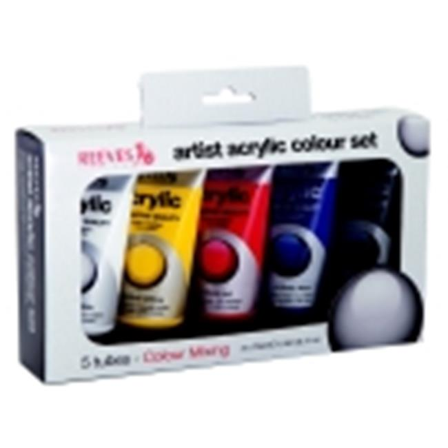 Reeves 2.54 Oz. Non-Toxic Acrylic Paint Set, Set - 5