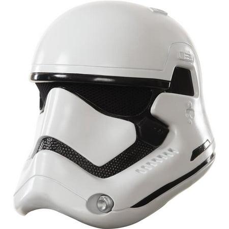 Cheap Stormtrooper Helmet (Rubies Costume RU32296 Stormtrooper White Helmet Kids)