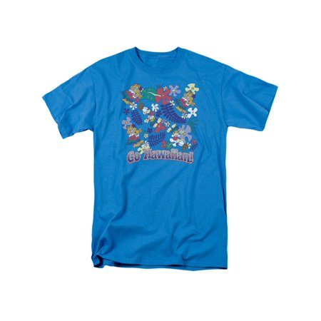 Garfield Comic Go Hawaiian Adult T-Shirt Tee](Halloween Special Garfield)