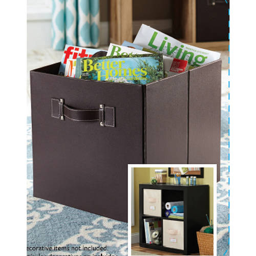 Better Homes And Gardens Collapsible Fabric Storage Cube, Multiple Colors    Walmart.com