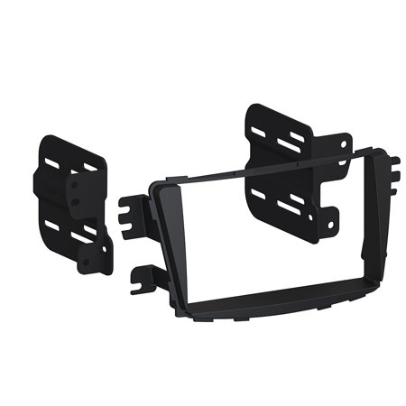 HY1630B 2012-Up Hyundai Accent Double DIN or DIN w/pocket Install Dash Kit By Scosche Ship from US (By Dash)