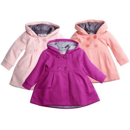 481d14206689 Hirigin - Baby Toddler Girls Fall Winter Trench Coat Wind Hooded Jacket  Kids Outerwear - Walmart.com