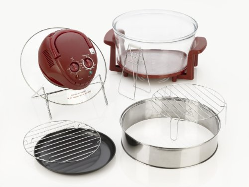 Superieur Fagor Halogen Tabletop Oven, Red