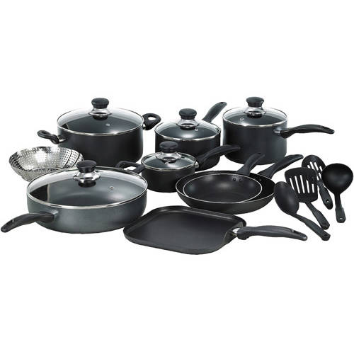 T-fal Basic Non-Stick Easy Care 18-Piece Cookware Set
