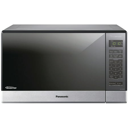 Panasonic NN-SN686S 1.2 Cu. Ft. 1,200 Watt Microwave, Stainless (Panasonic Stainless Steel Microwave 1-2 Cu Ft Costco)