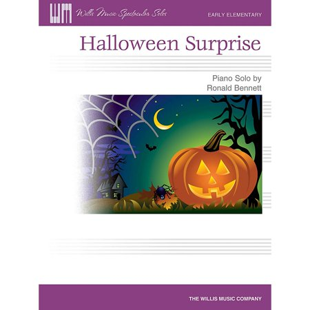 Willis Music Halloween Surprise (Early Elem Level) Willis Series by Ronald Bennett (Appropriate Halloween Music)