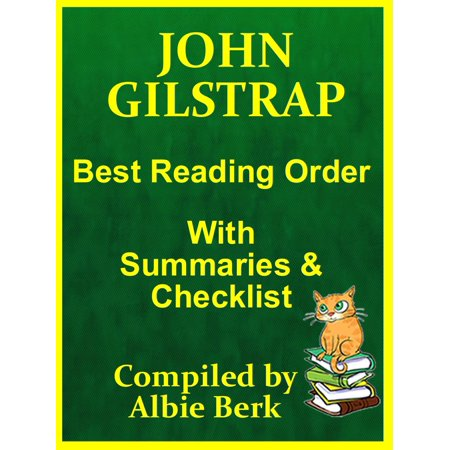 John Gilstrap: Best Reading Order - with Summaries & Checklist -