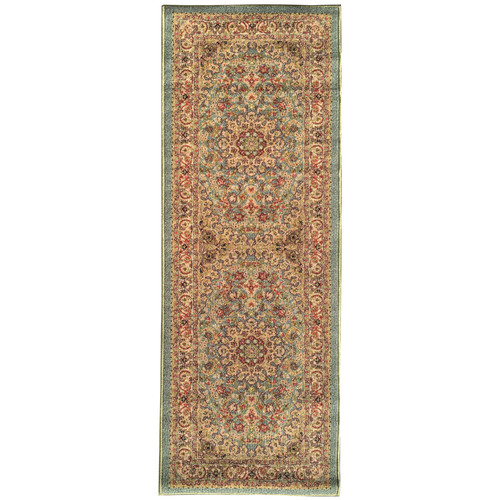 sweet home stores Sweet Home Medallion Ocean Green Area Rug