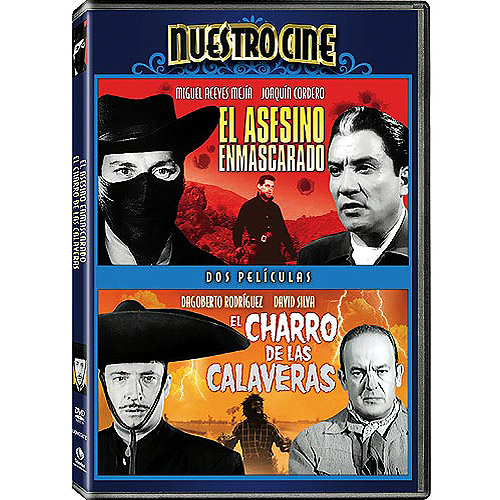 El Asesino Enmascarado (The Masked Assassin) / El Charro De Las Calaveras (Riders Of The Skulls) Double Feature (Full Frame)