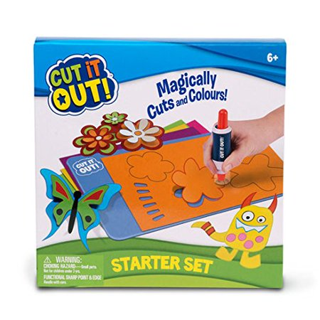 ! Starter Kit, starter kit from Cut It Out It includes markers that magically cut & color By Cut It Out Ship from - Ship Cut Out