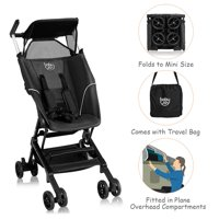 Costway Buggy Portable Pocket Compact Lightweight Stroller Easy Handling Folding Travel