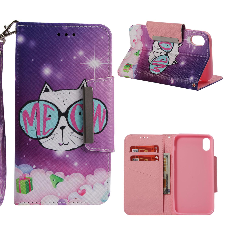 Cute Printed Glitter Phone Case Cover
