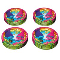 American Greetings Trolls Paper Dinner Plates, 36-Count