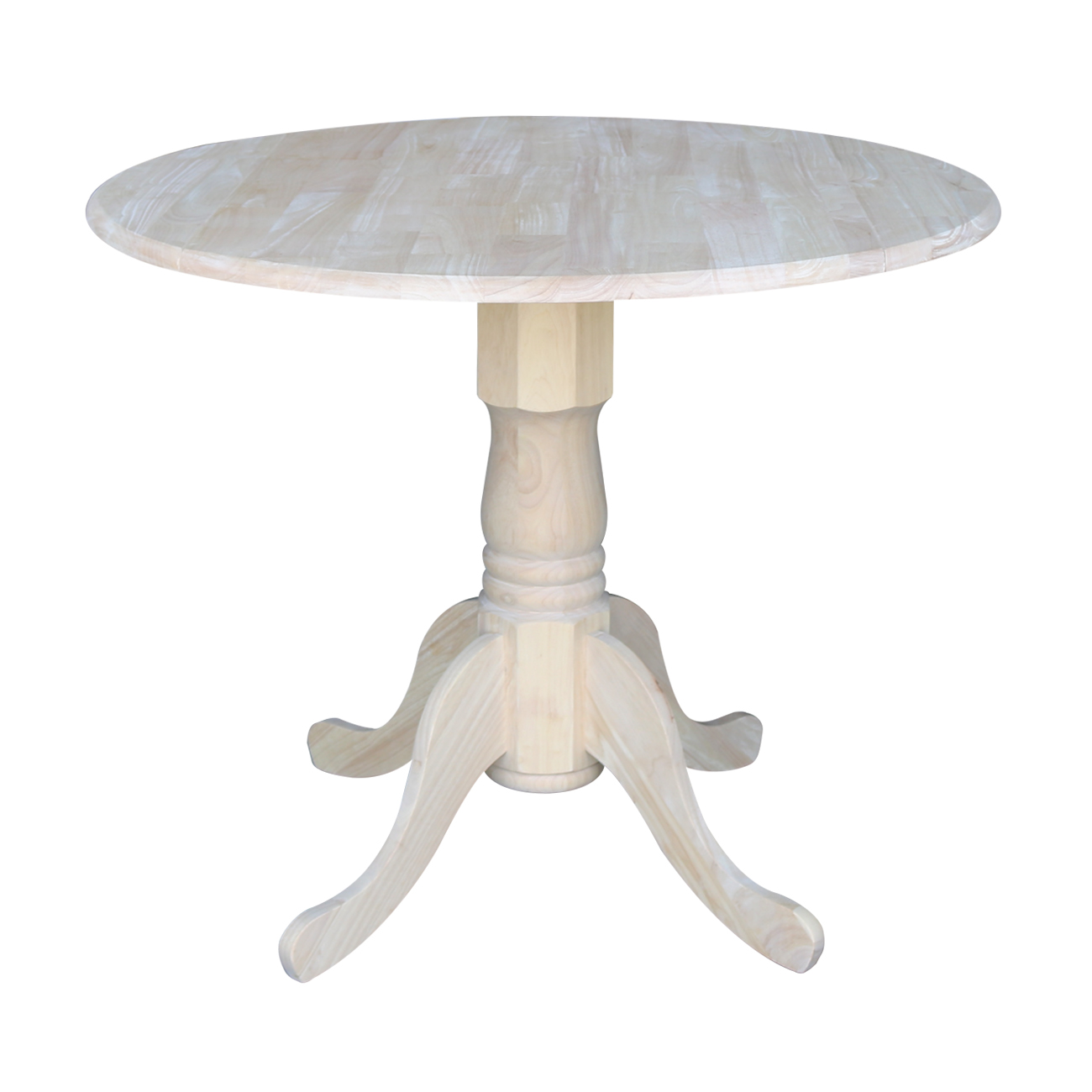 """International Concepts T-36Dp Dual Drop Leaf Table, 36"""", Ready To Finish"""