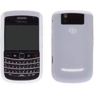 OEM WHITE Blackberry Silicone Rubber Gel Skin Case Cover for Tour 9630 and Bold 9650