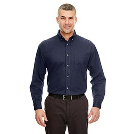 8960C Uc Mens Ls Cypress Twill Shirt Navy 4Xl - image 1 de 1