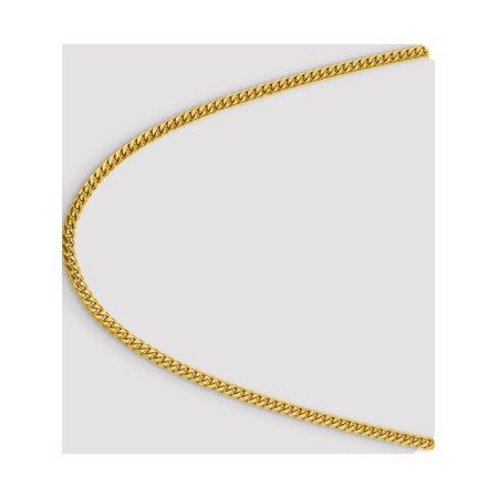 14k 4.0mm or jaune Domed Cha?nette - image 3 de 5
