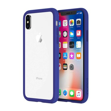 best service d13ce 6c76a iPhone X Case, Incipio Octane Light Shockproof Ultra Thin Slim Clear TPU  Polymer Protection Shock-Absorbing + Impact Resistant Bumper Case