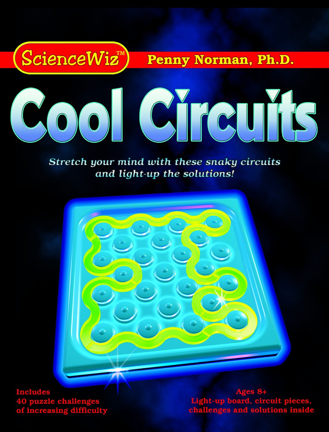 Sciencewhiz 7850 Cool Circuits Logic Game Electric Circuit