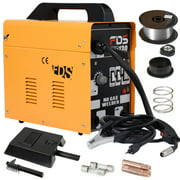 MIG 130 Welder Flux Core Wire Automatic Feed Welding Machine w/ Free Mask