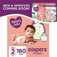 Parent's Choice Diapers (Choose Size & Count)