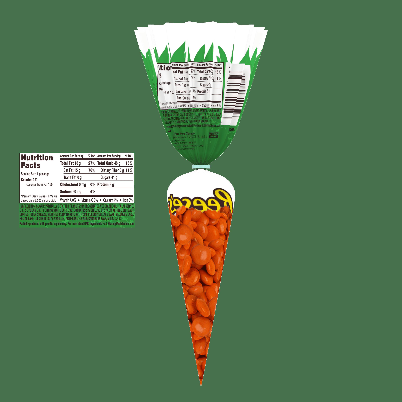 Reeses Pieces Easter Carrot Bag Candy 27 Oz Walmartcom