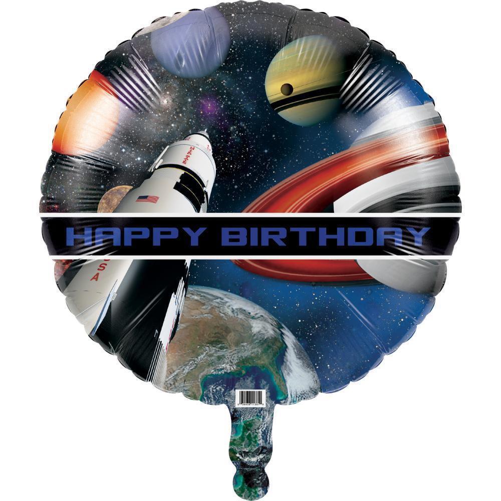 "Creative Converting Space Blast Metallic Balloon 18"""