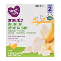Parent's Choice Rice Rusks, In-Store Purchase Only