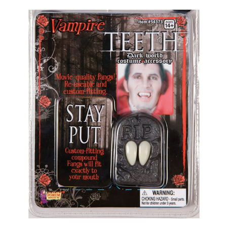 Halloween Vampire Fangs - Movie Quality - Vampire Halloween Makeup For Kids