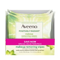 50 Count, Aveeno Makeup Removing Face Wipes