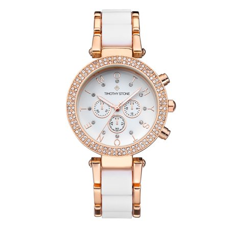 Desire Jewelry (DESIRE Rose Gold/White Women's Design Watch)