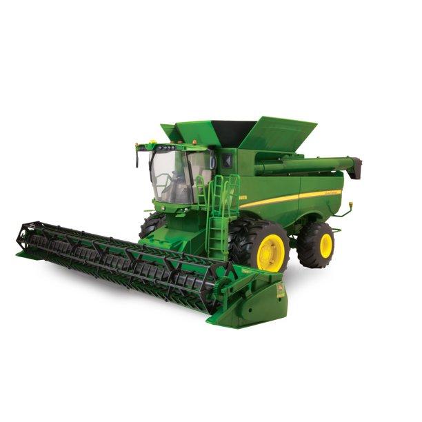 John Deere Big Farm Toy Combine S670 Combine 1 16 Scale Walmart Com Walmart Com