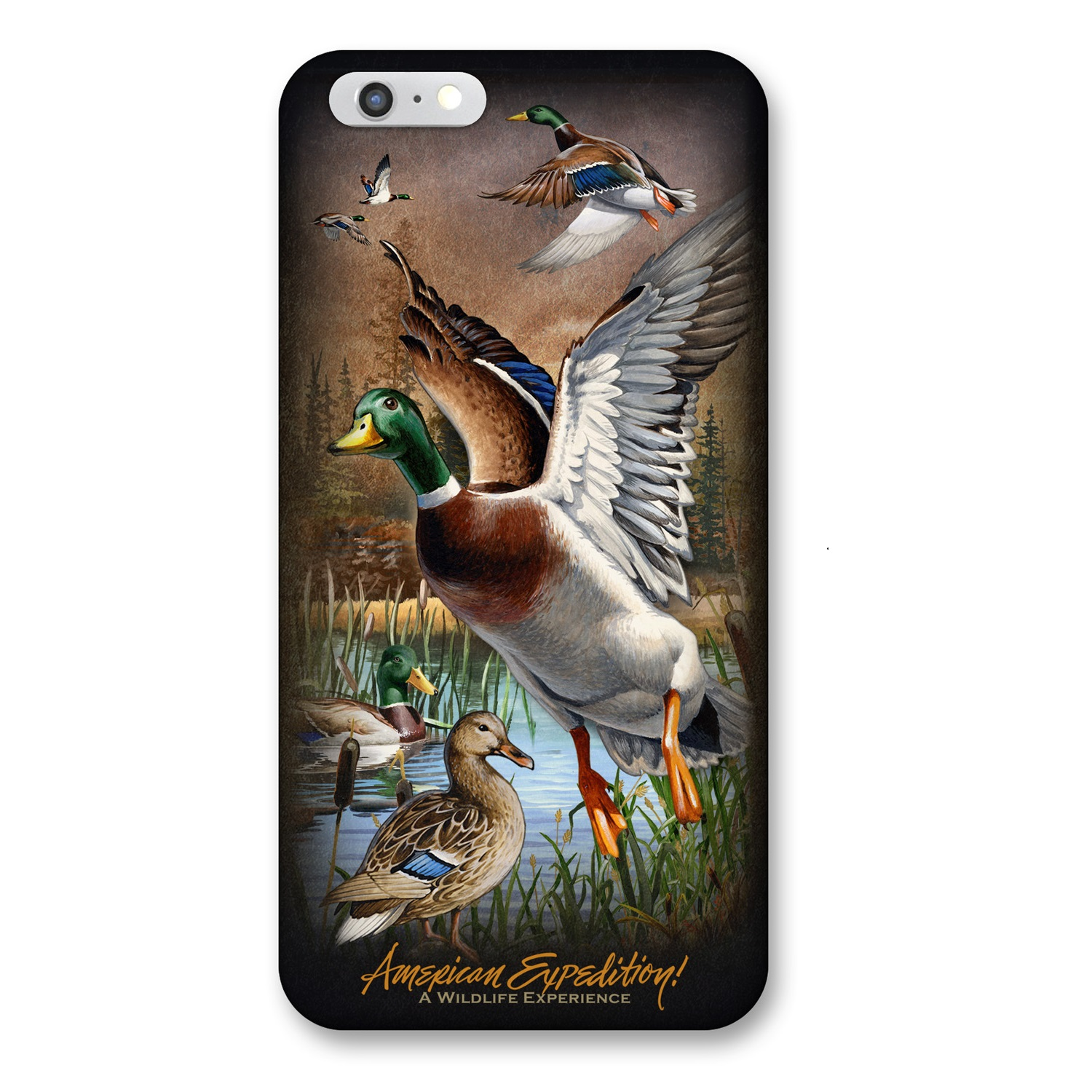American Expedition iPhone 6 Cover - Mallard Collage