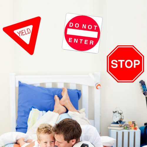 Wallhogs Sign Multi-Pack II Wall Decal